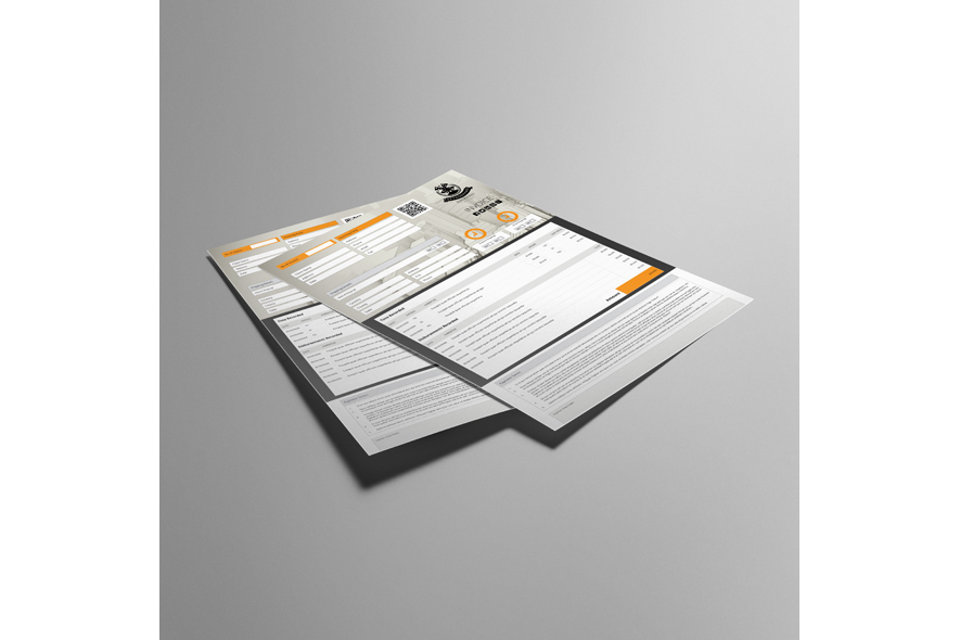 Business A4 Invoice Template example image 4