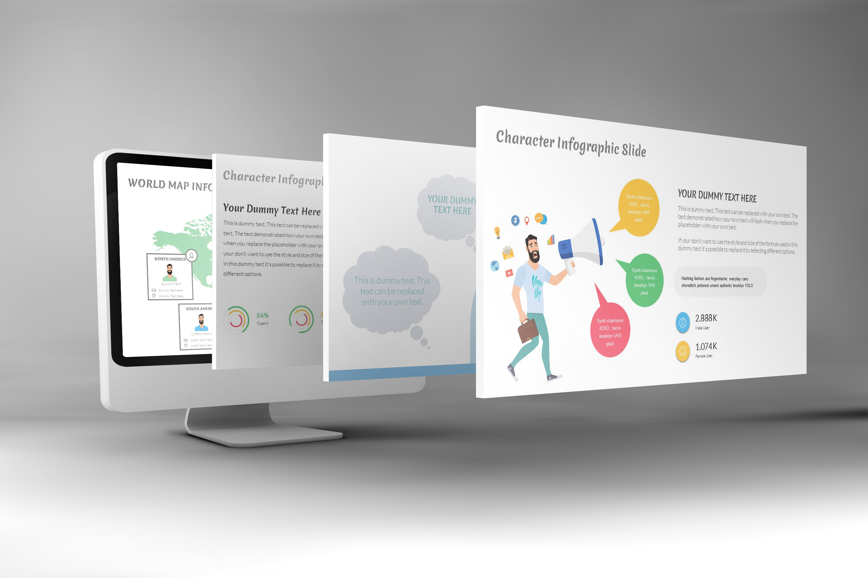 E-Trainer PowerPoint Template 1 example image 5