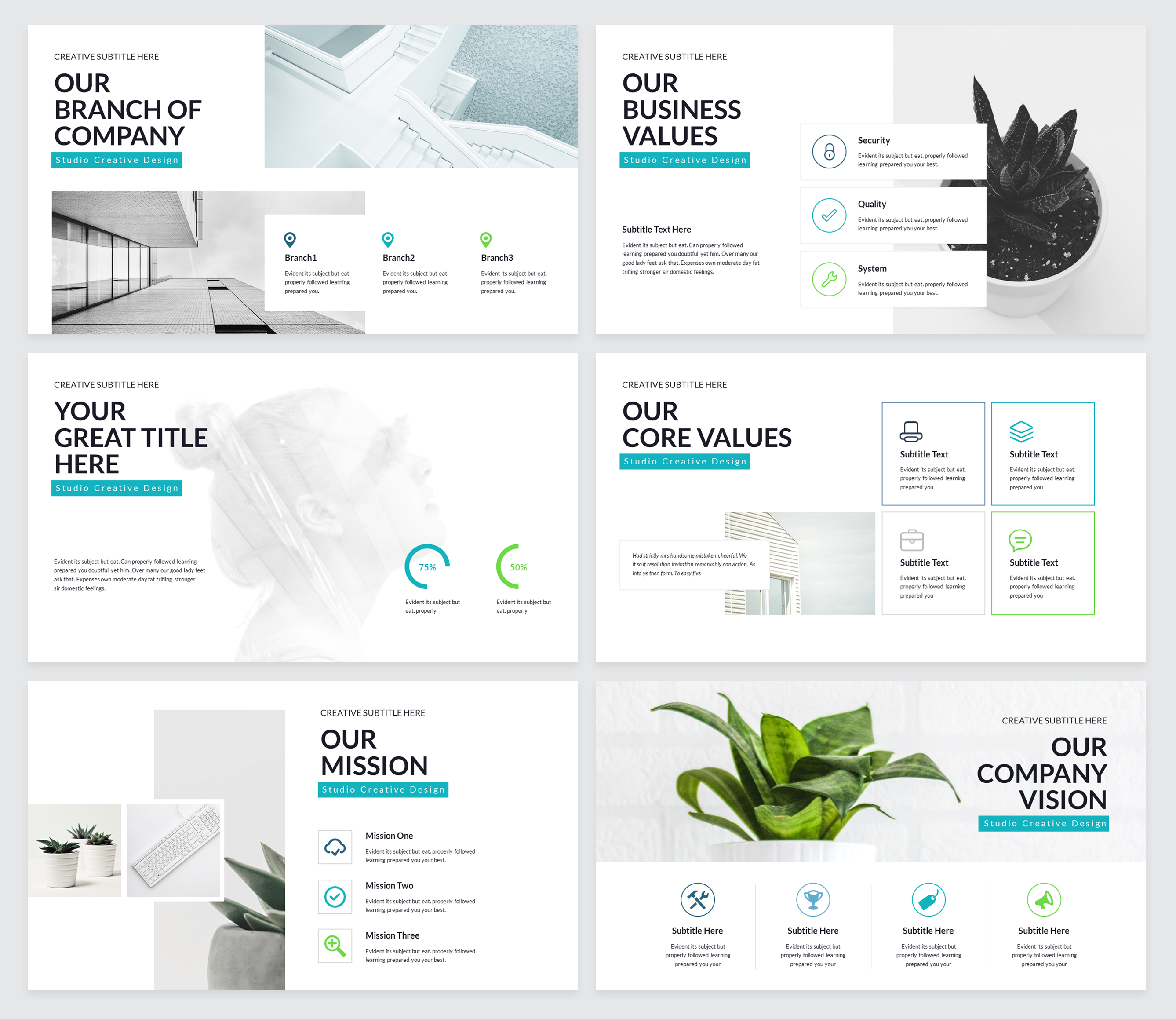 Rox Business PowerPoint Presentation Template example image 3