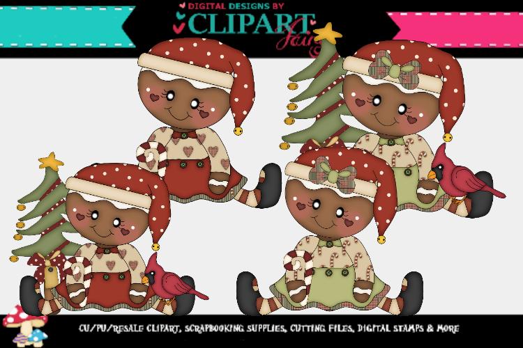 Christmas Gingy Girls example image 1