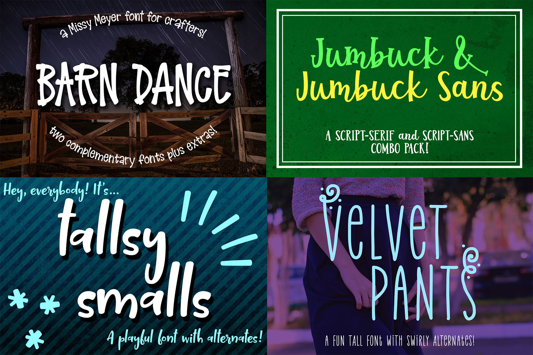 Billy Bot Bundle 5 - Tall Friends Font Bundle! example image 2