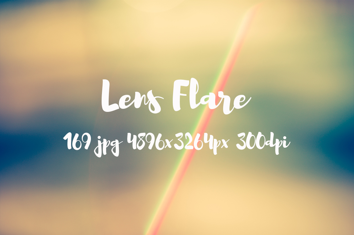 Lens Flare Pack example image 23