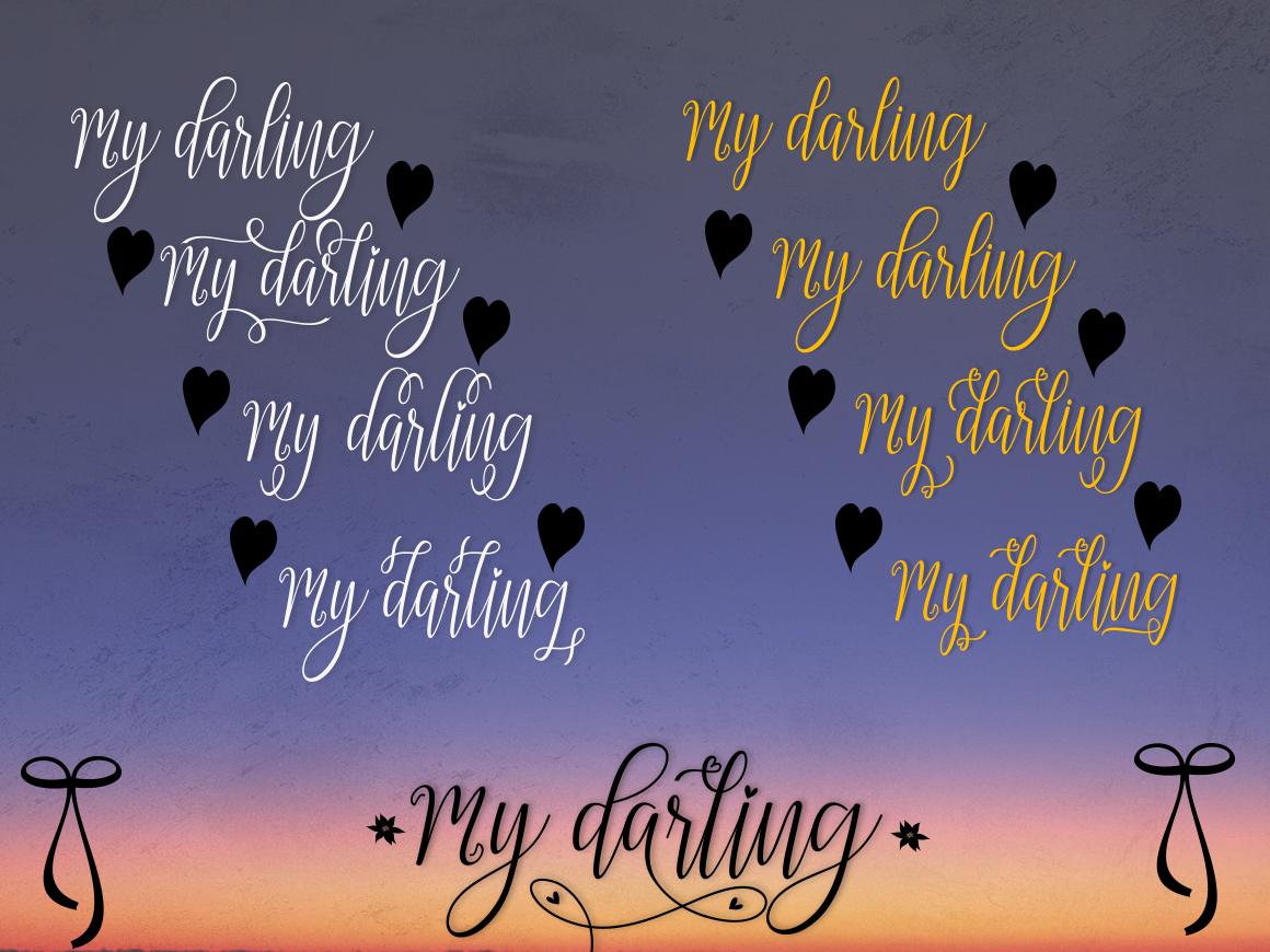 My Darling Script  Bonus example image 11