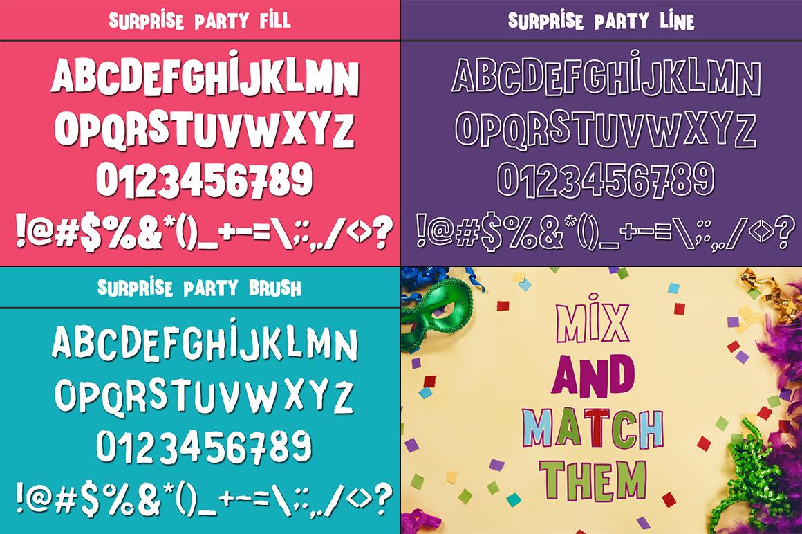 The Crafter's Font Bundle - 12 Font Families & Bonus Extras example image 19