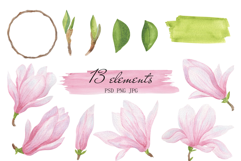 Magnolia set example image 2