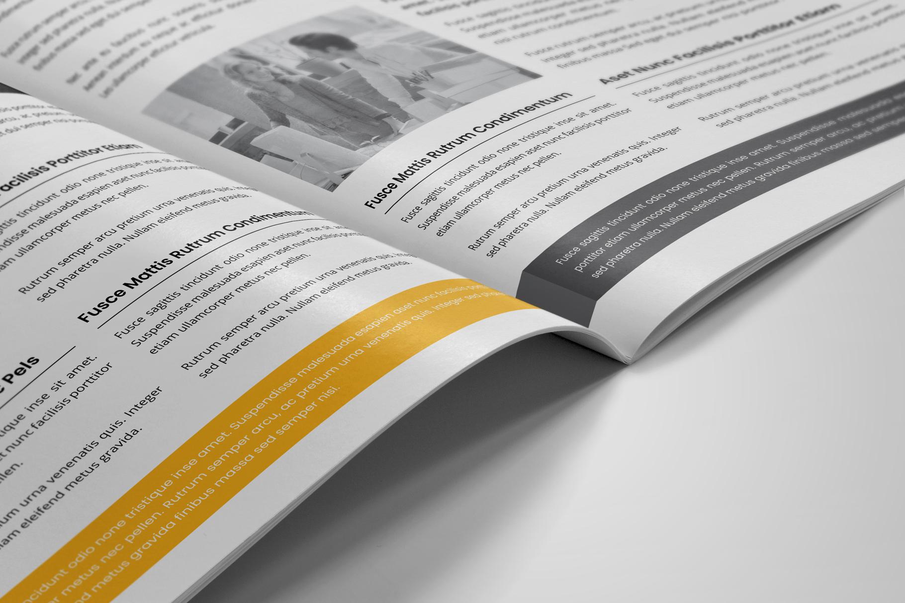 Company Profile Brochure v7 example image 8