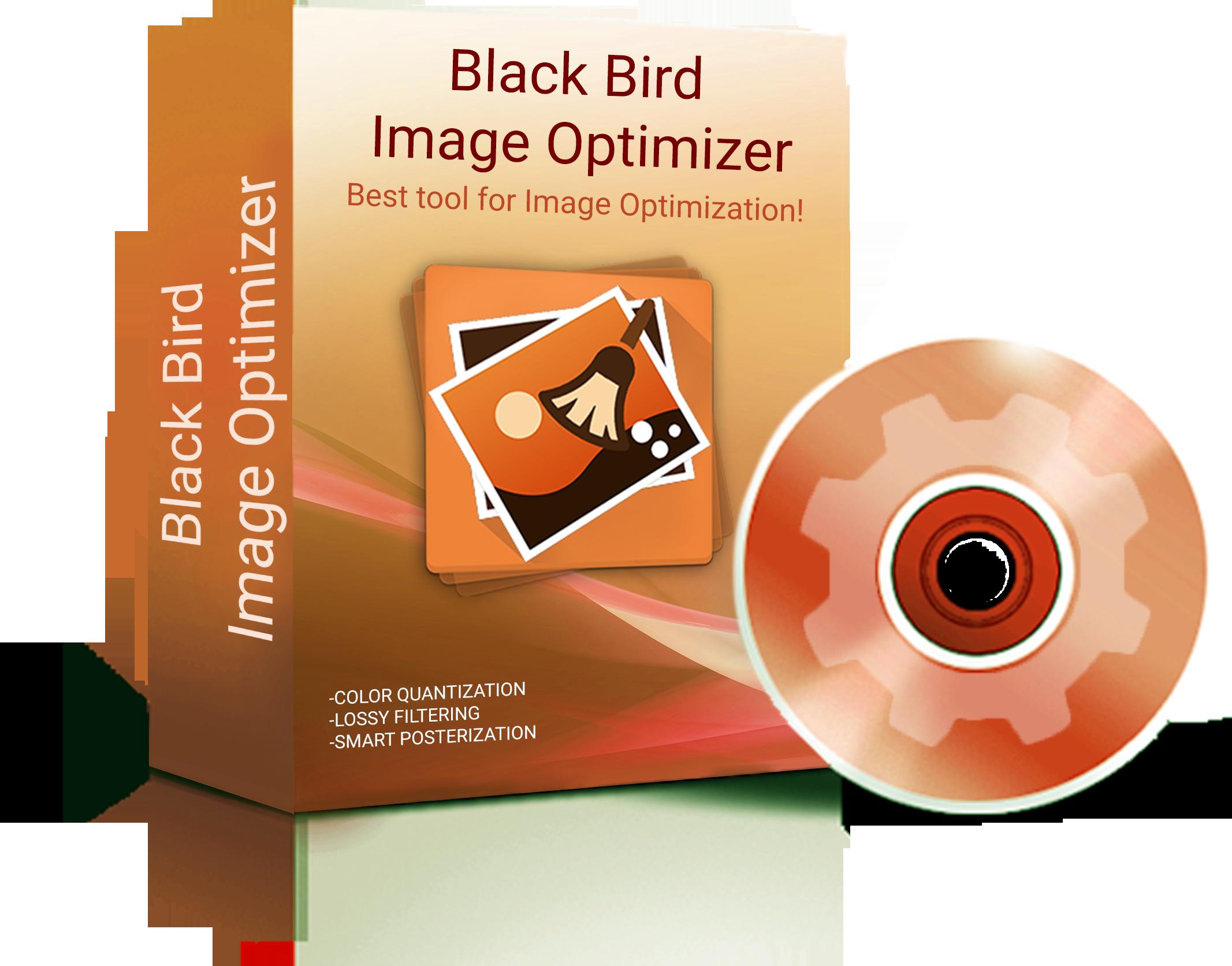 Black Bird Image Optimizer example image 5