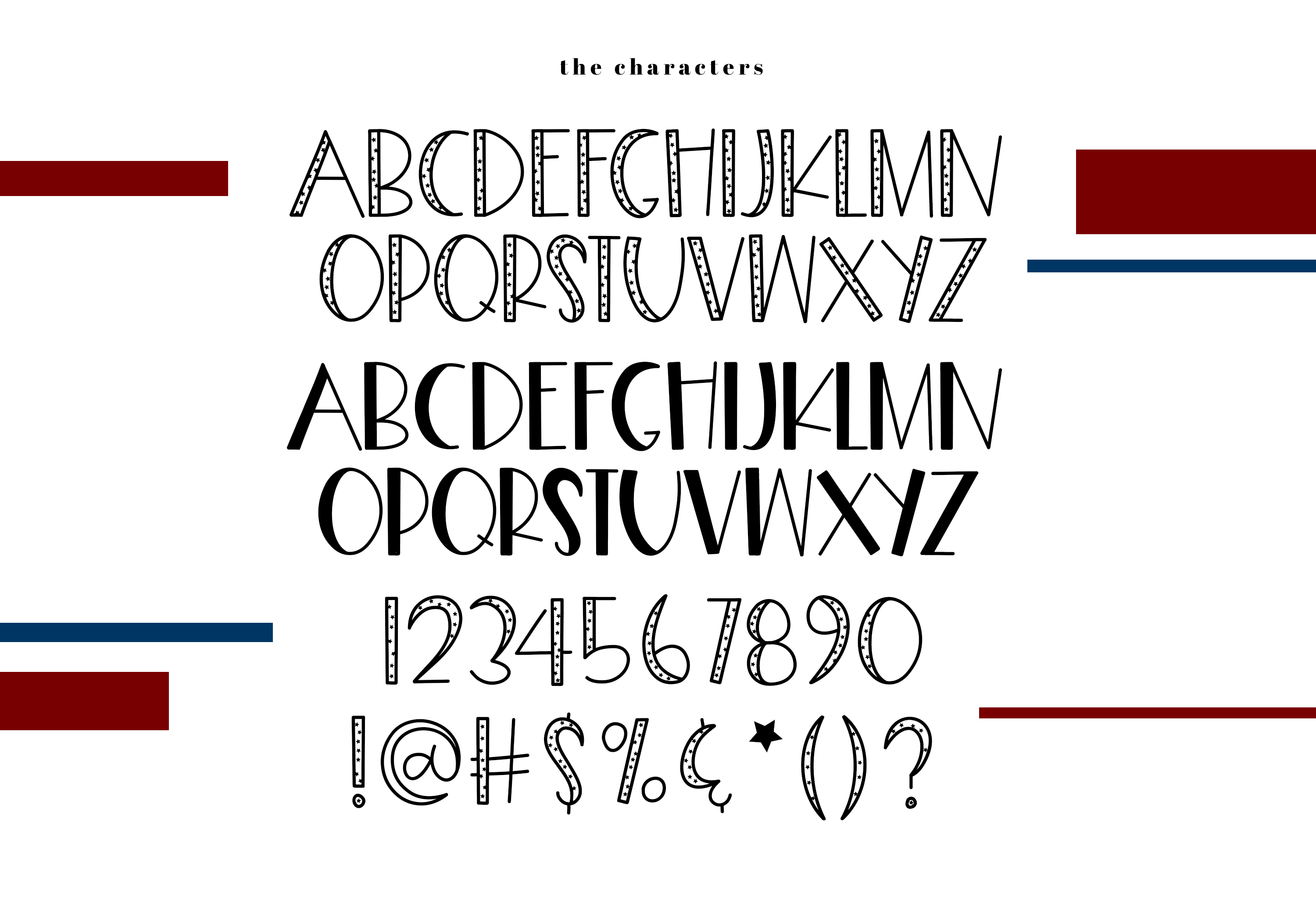 Freedom - A Fun Patriotic Font example image 9