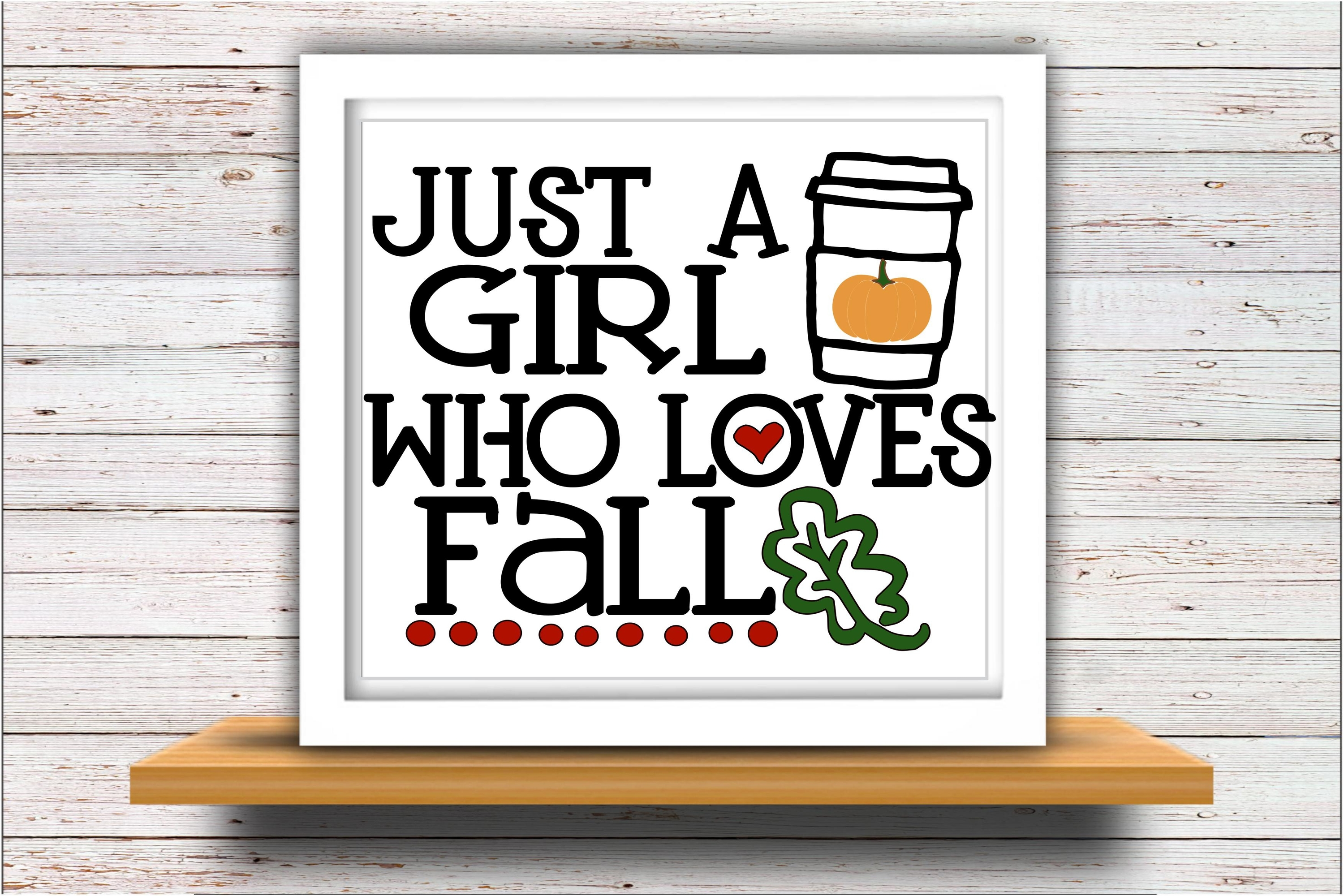 Pumpkin svg DXF JPEG Silhouette Cameo Cricut girl loves fall example image 2