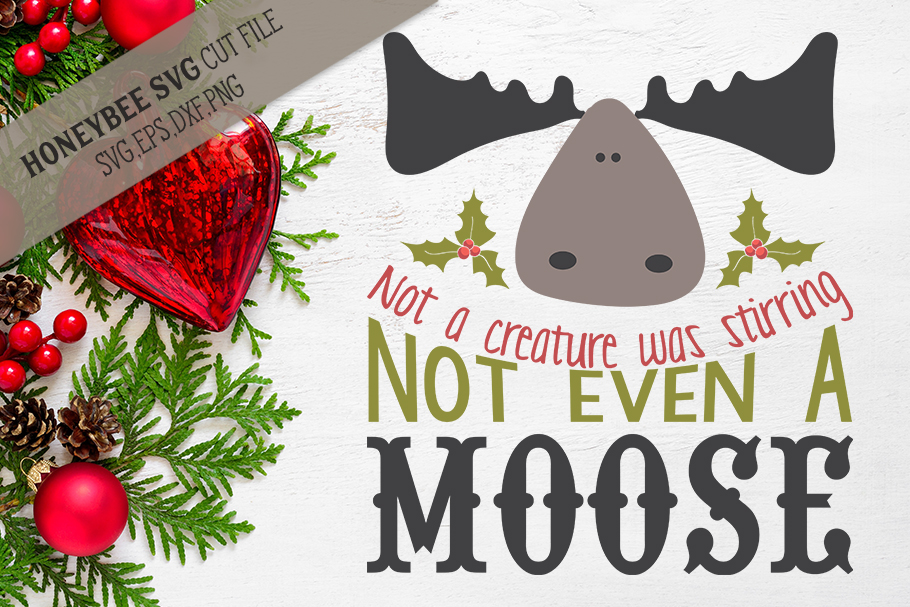 Not even A Moose svg example image 1