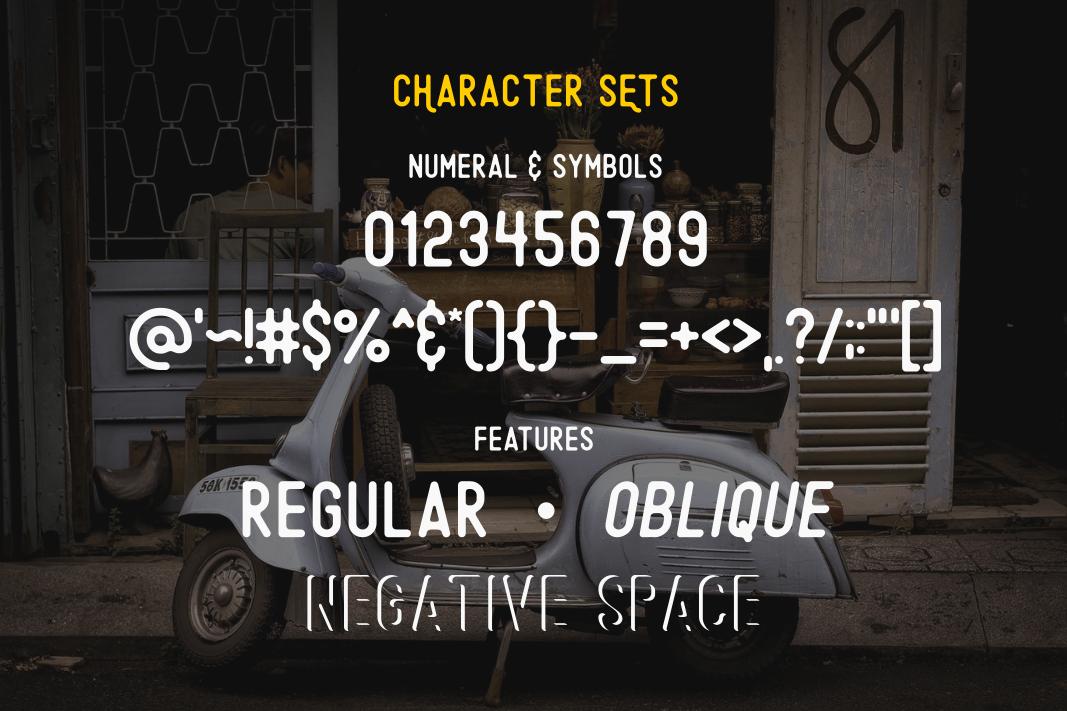 Original - A Minimalist Font example image 6