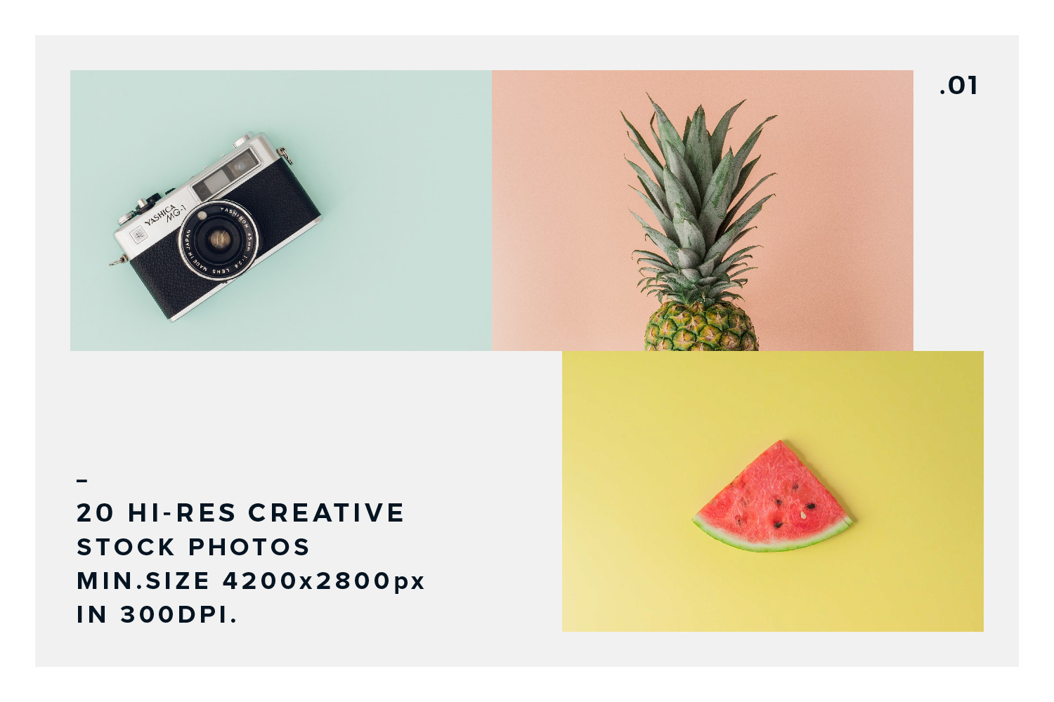 20 Stock Photos Creative Pack vol.1 example image 5
