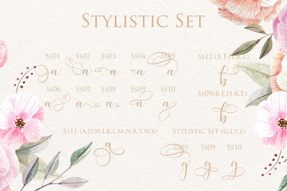 hokie | Beauty Stylistic Calligraphy example image 4