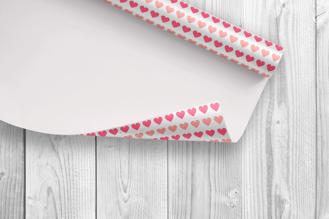 Vector seamless hearts patterns example image 3