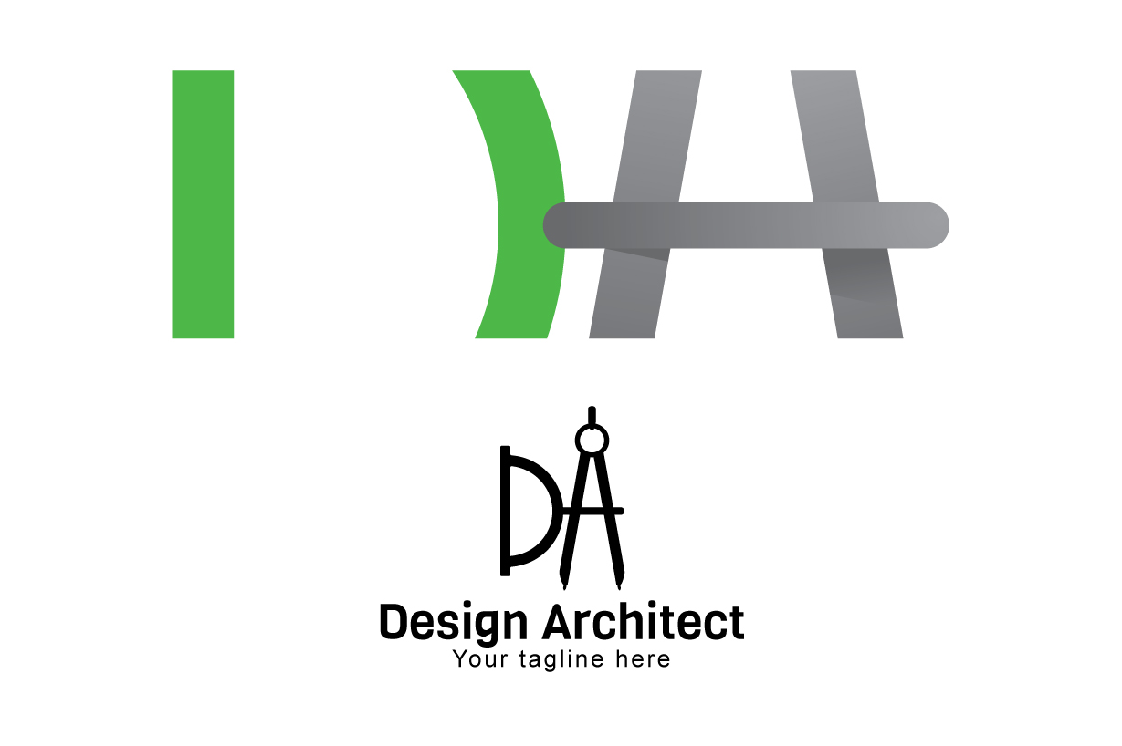 Design Architect - Alphabetic Monogram Stock Logo Template example image 3
