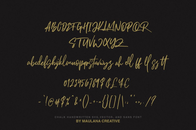Brotthers - SVG Brush Free Sans Font example image 9