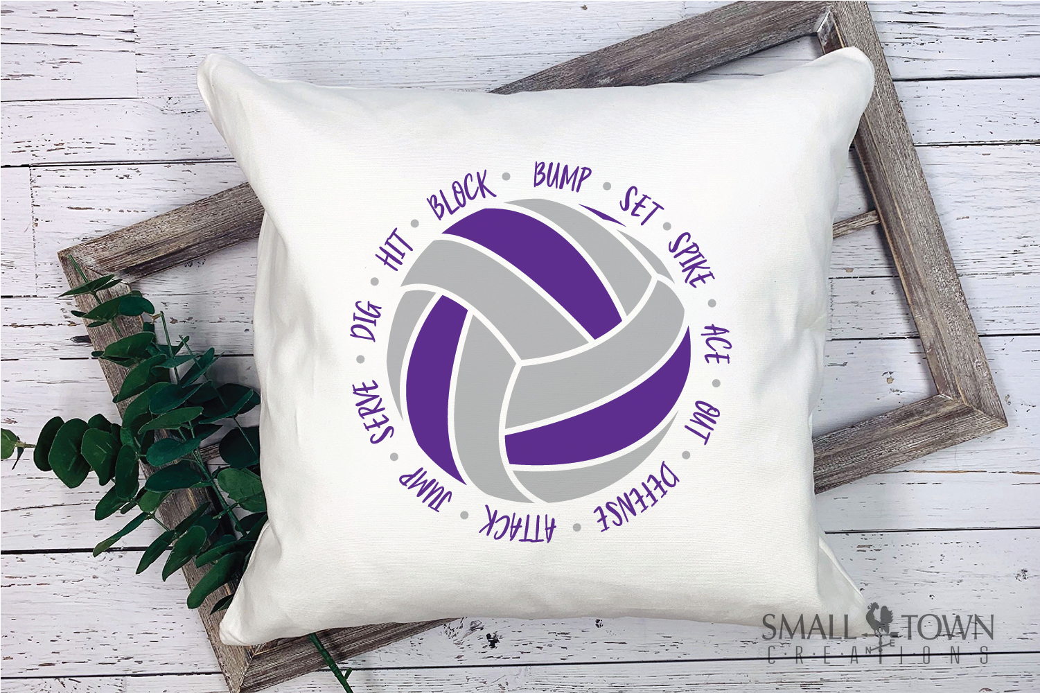 Volleyball, Ball, Sport, Team, Logo, PRINT, CUT & DESIGN example image 3
