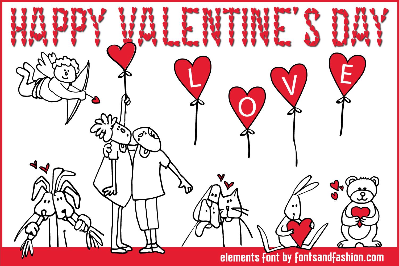 Happy Valentines Day example image 1