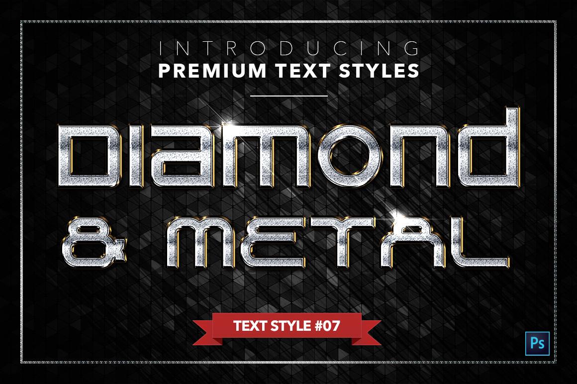 Diamond & Metal #3 - 18 Text Styles example image 8