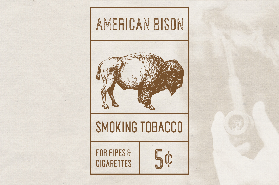 Tobacco Typeface example image 4