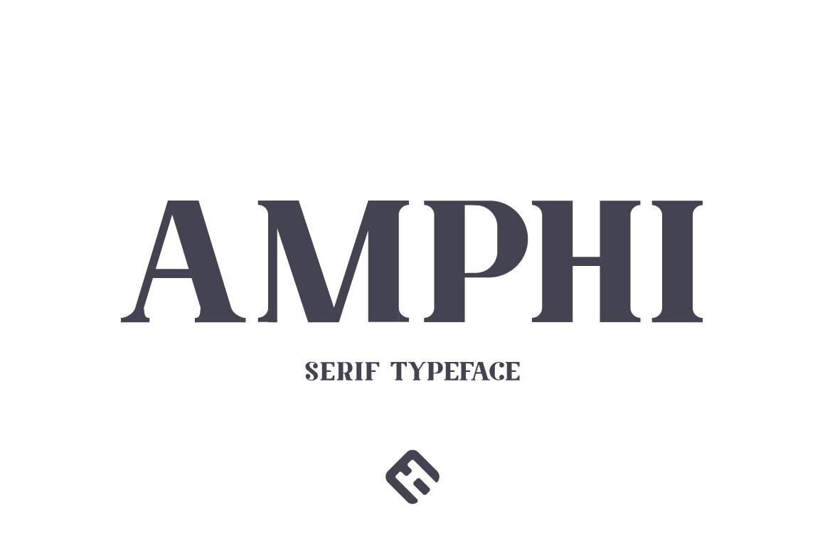 Amphi Typeface example image 1
