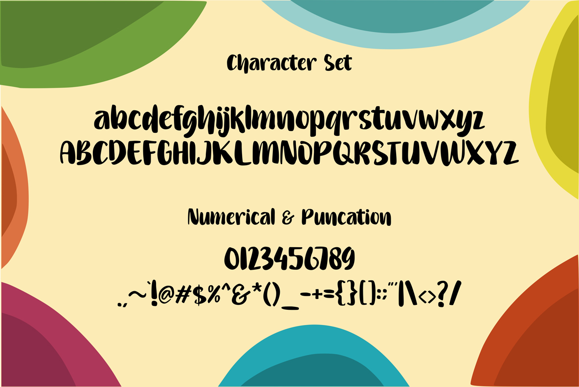 Gembulla   Fun Fonts example image 4