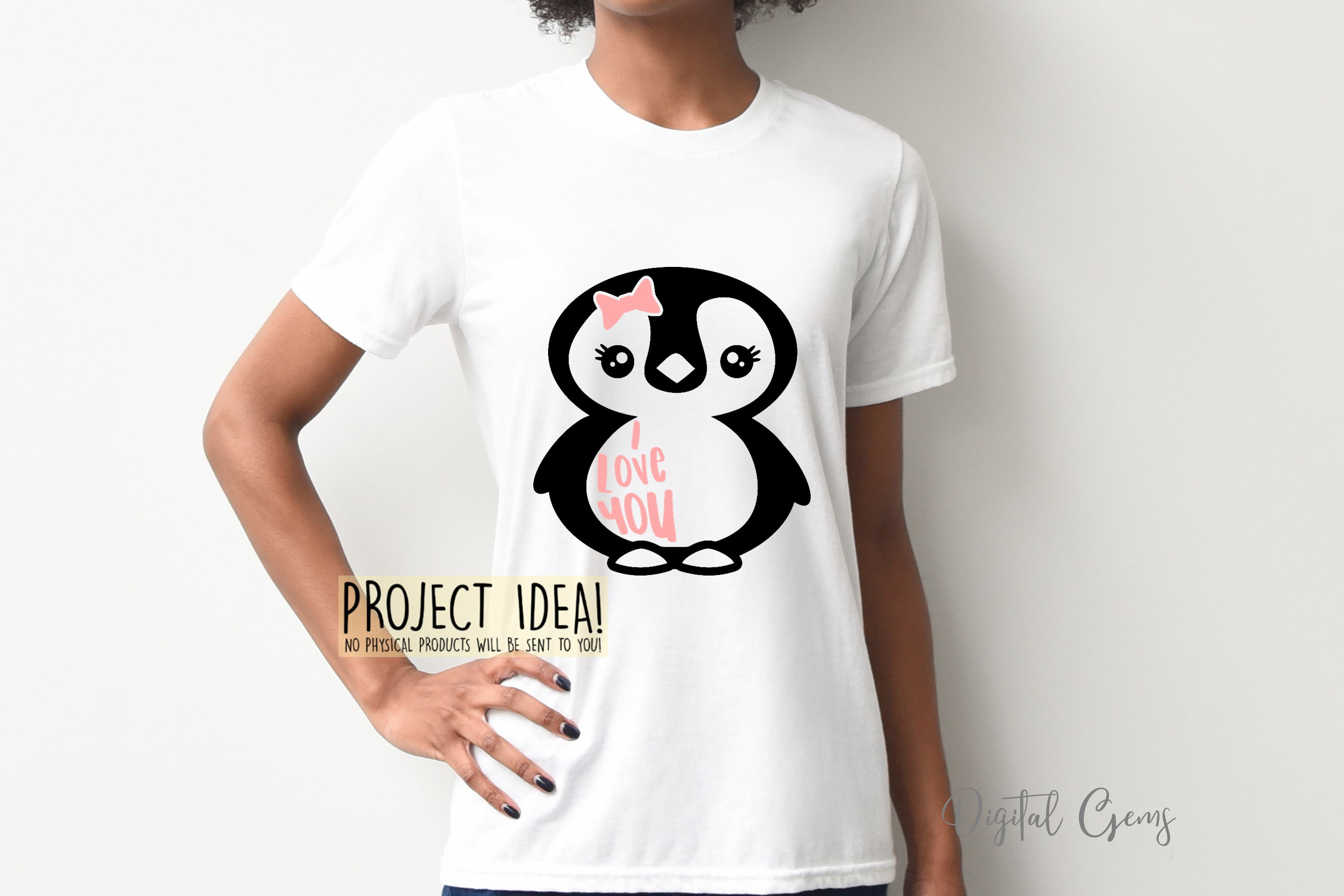 Penguin designs SVG / DXF / EPS / PNG Files example image 7