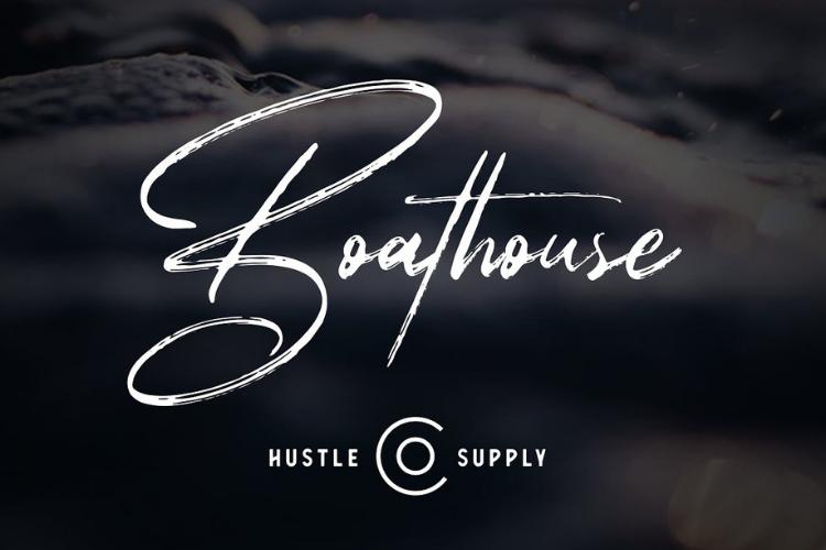 Boathouse - Brush Signature Script example image 1