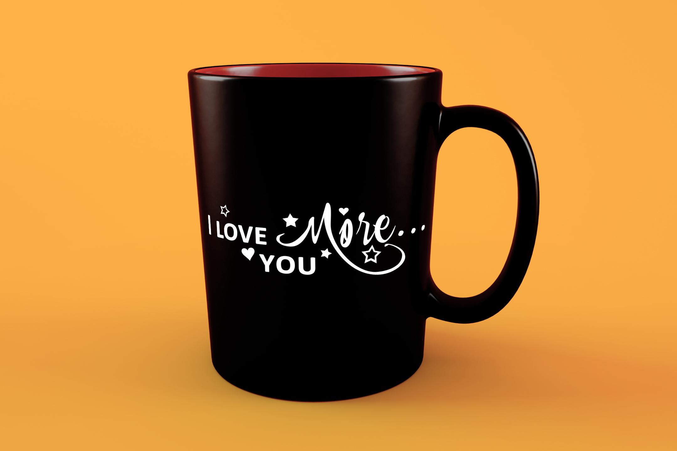 I Love you more svg Valentine svg Love heart svg example image 5