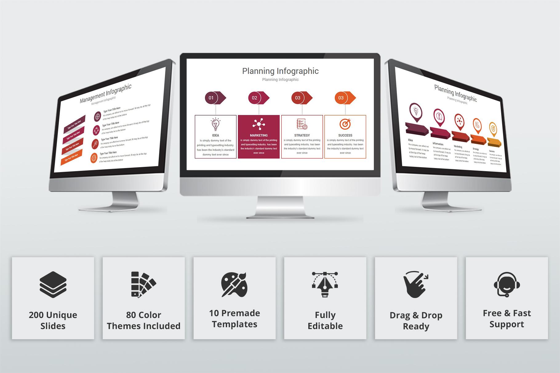 Varied multipurpose PowerPoint Presentation Template example image 2