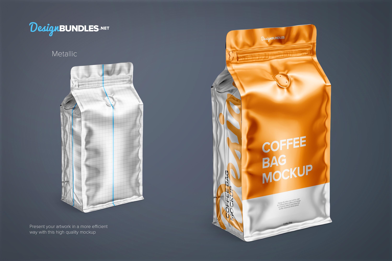 Coffee Bag Mockups example image 4