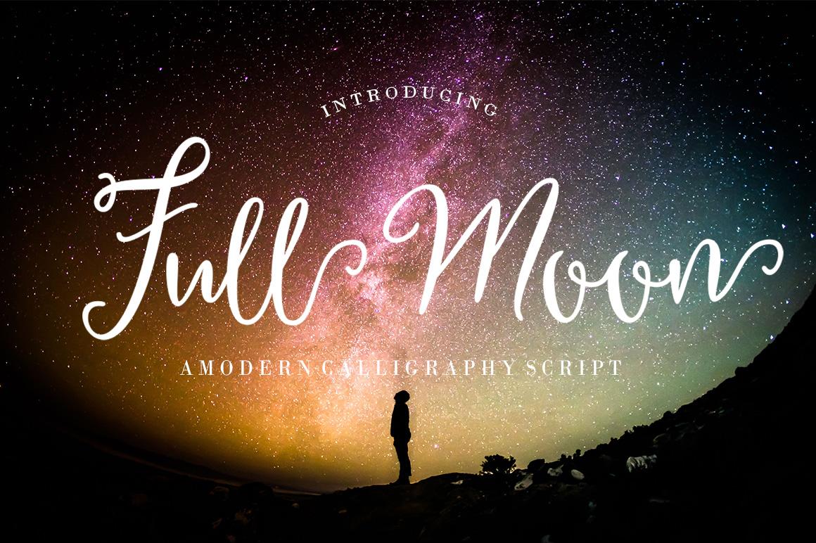 Full Moon Script example image 1
