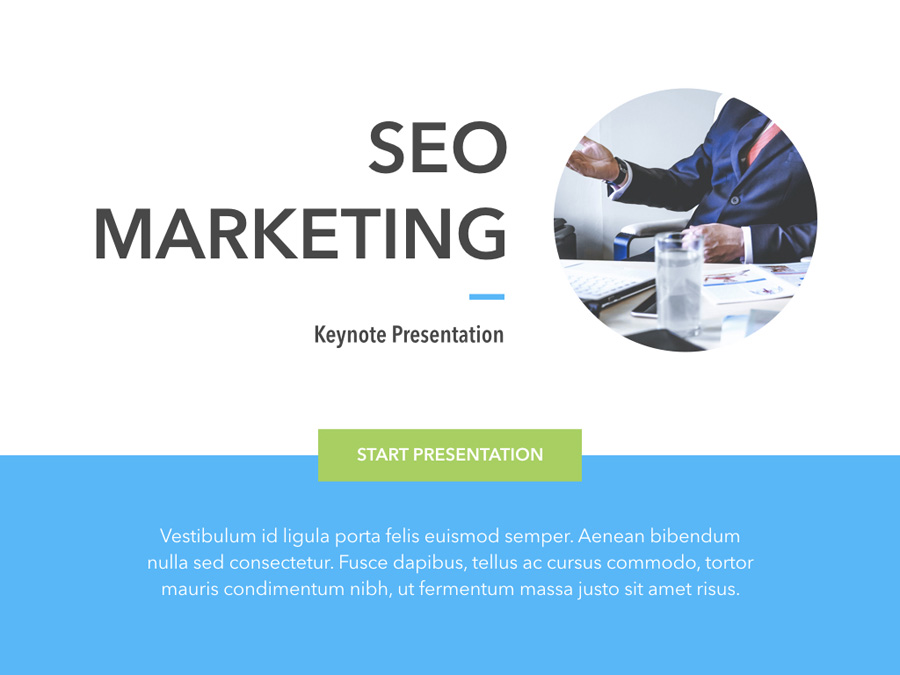 Marketing & SEO Keynote Template example image 2