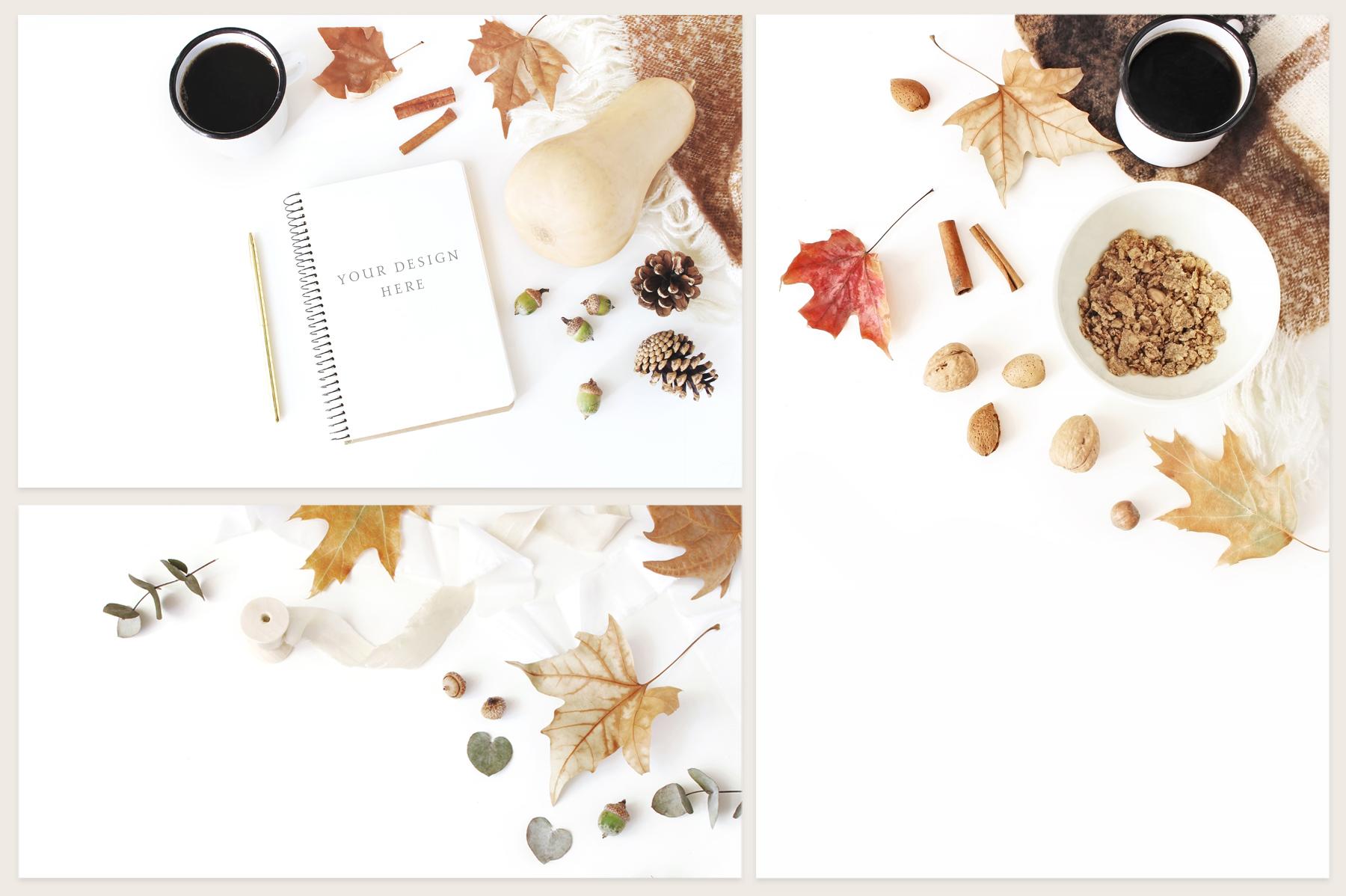 20 Charming autumn mockups & stock photo bundle example image 2