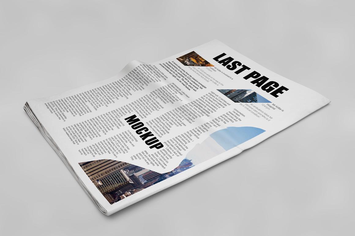 Newspaper Mockup example image 4
