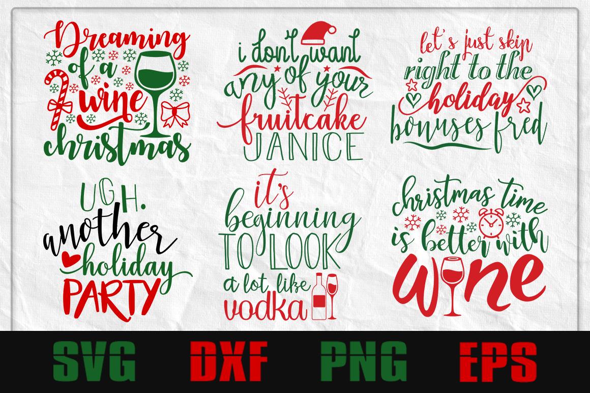 Adult Christmas SVG design bundle example image 1