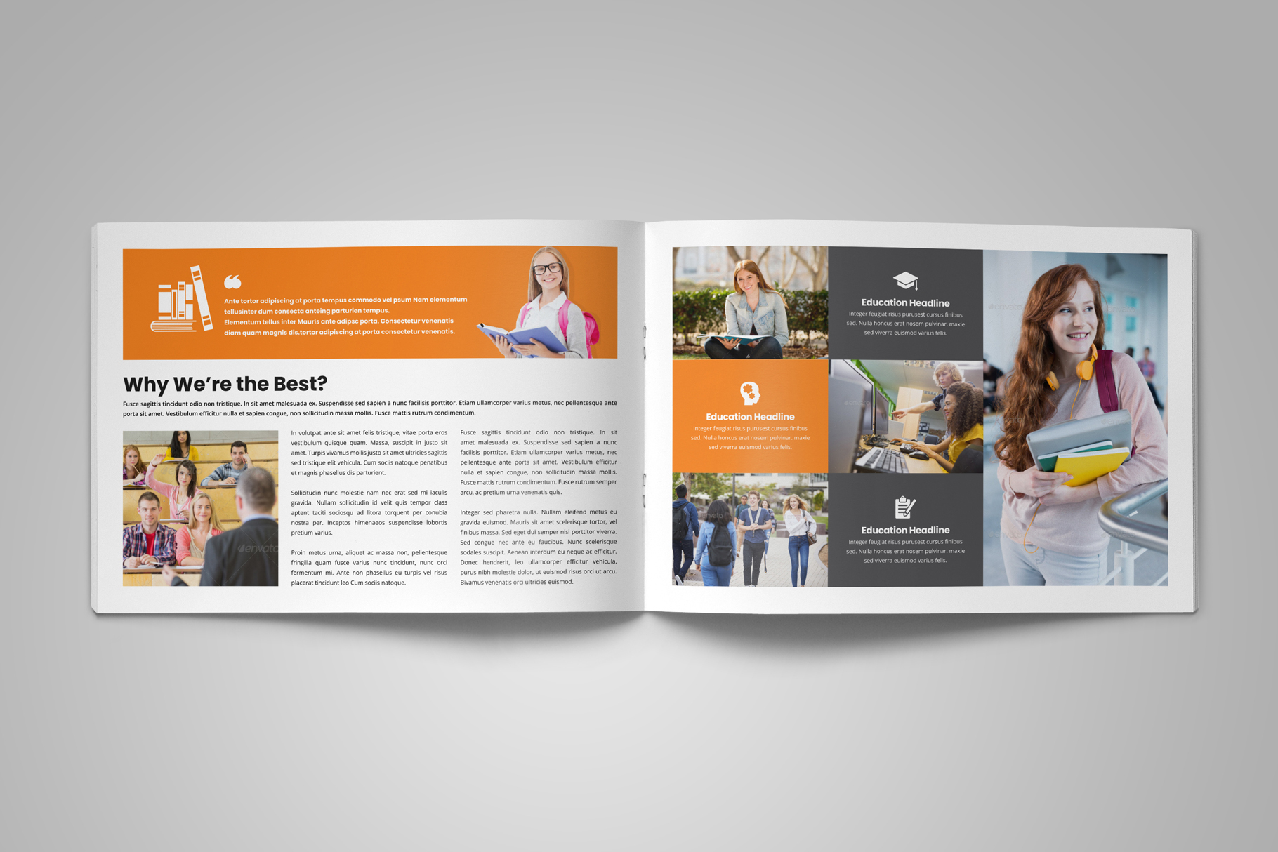 Education Prospectus Brochure v6 example image 4