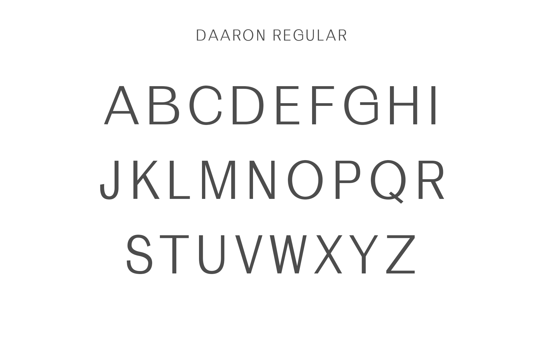Daaron Sans Serif Font Family example image 2