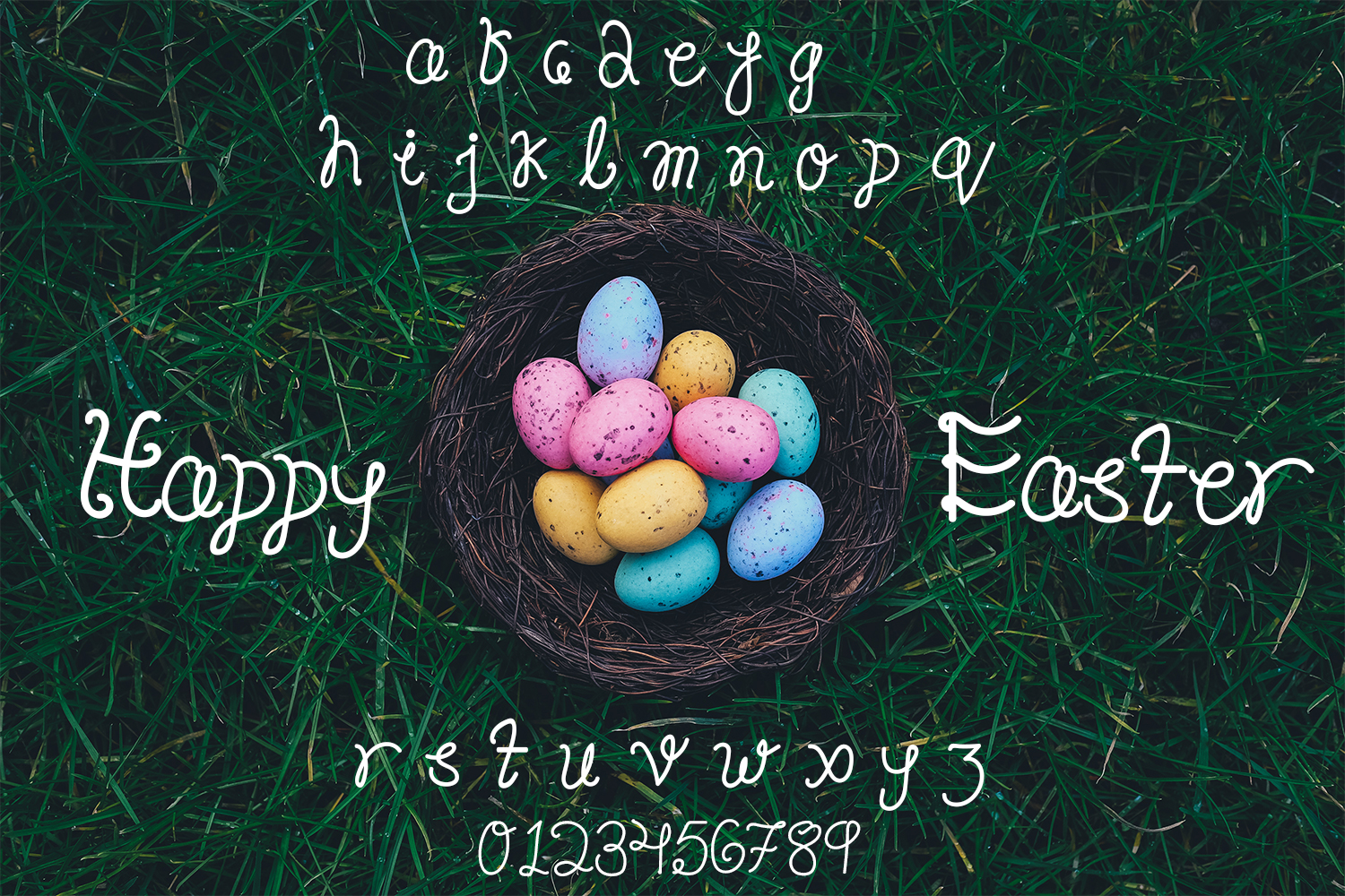 Happy Easter Font example image 2