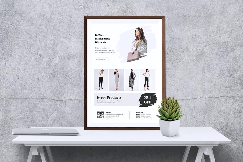 BALNK Minimal Fashion Flyer example image 5