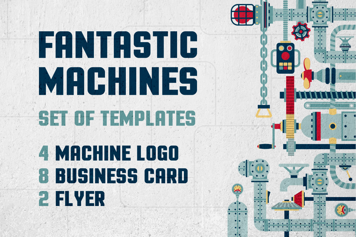 Fantastic Machine Templates example image 1