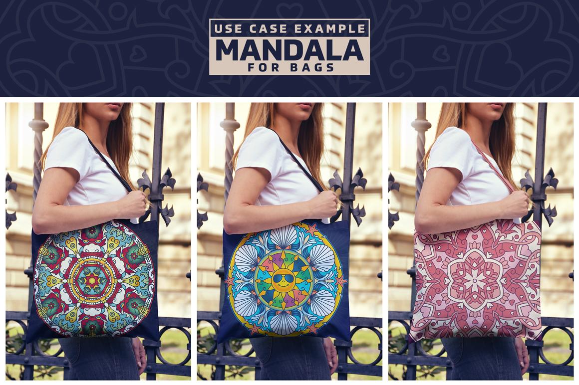 Seasonal and Holiday Mandalas example image 12