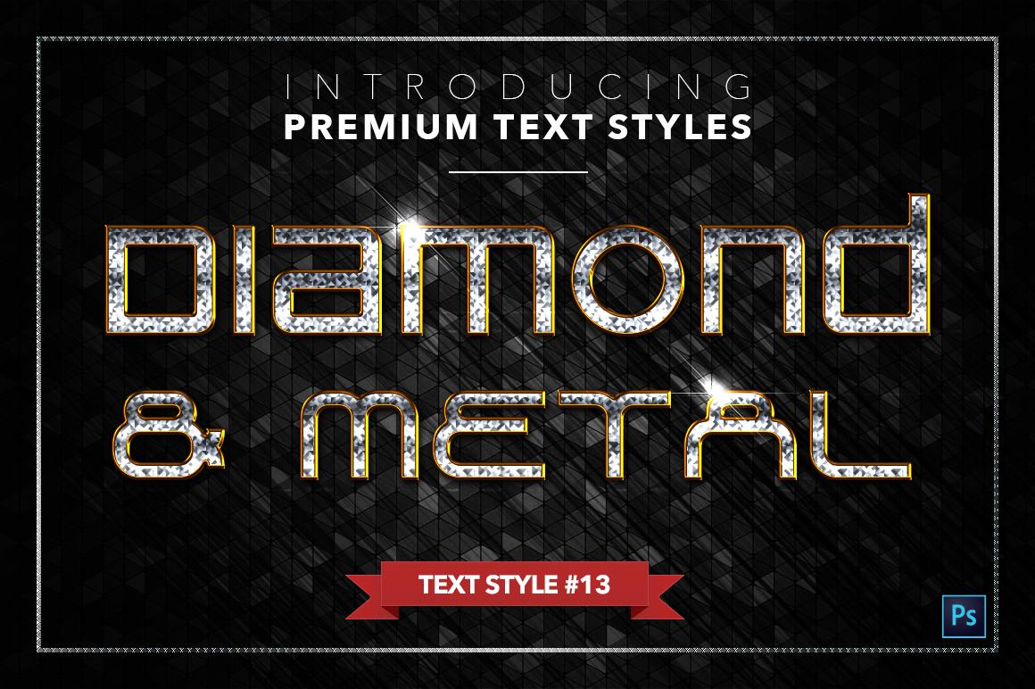 Diamond & Metal #3 - 18 Text Styles example image 14