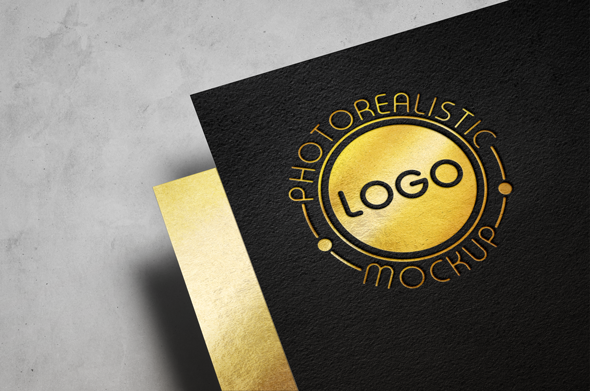 Logo Mock-Up Paper Edition example image 10