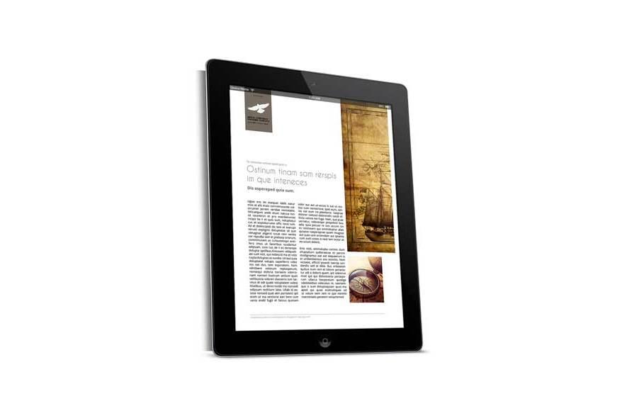 Digital Corporate Magazine Template example image 3