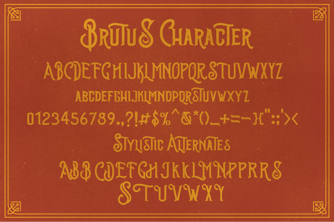Brutus Typeface example image 7