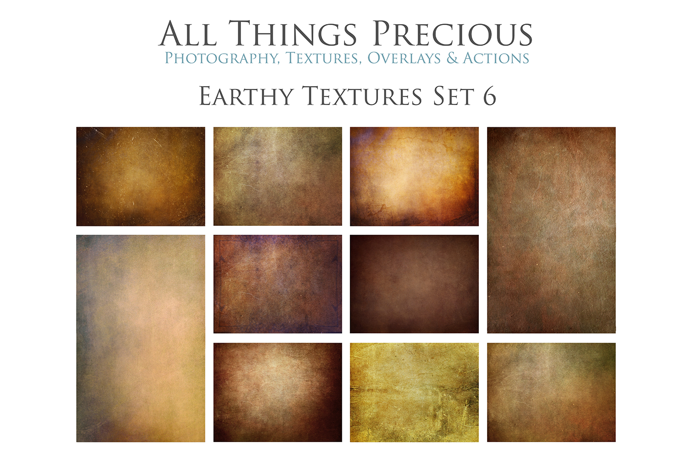 10 Fine Art Earthy Textures SET 6 example image 1
