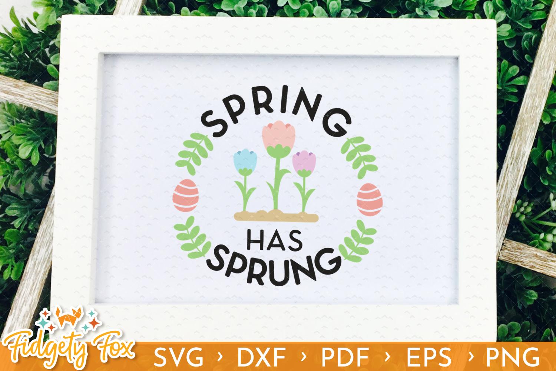 Cute Easter SVG Bundle, 18 original designs for Easter example image 8