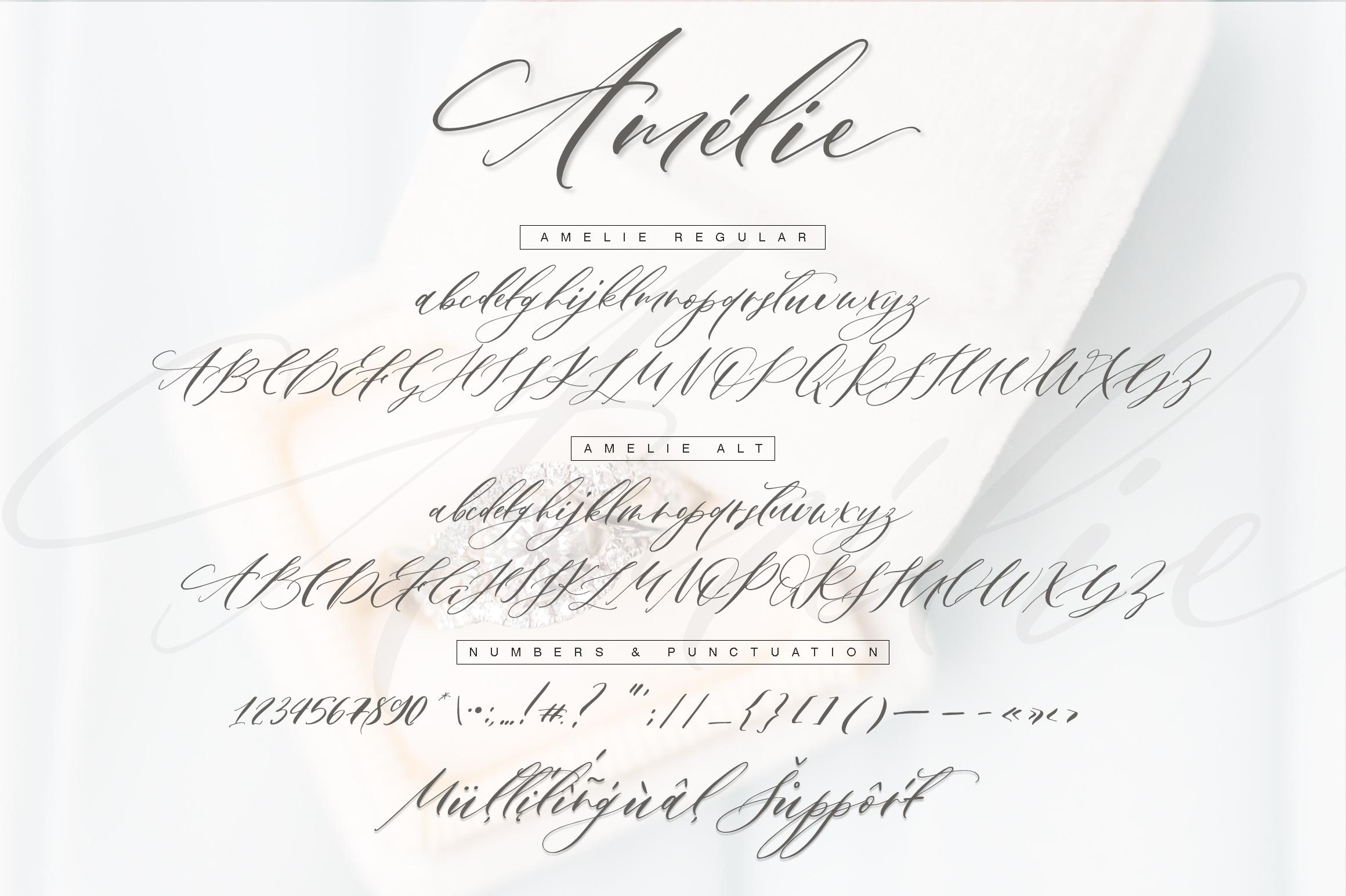 Amélie Script example image 13
