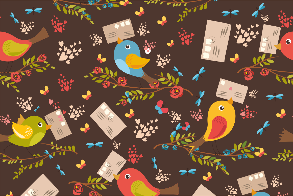 Birds set (vector,jpg,png) example image 4